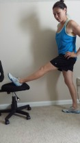 Standing Biceps Femoris Stretch